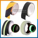 Floor Tape Caution Tape Anti Slip Self Adhesive Rough Surface Outdoor