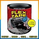 "Super Strong Rubberized Waterproof Tape 4"" Wide Seal Stop Leaks Tape"