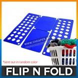 Flip N Fold Fast Speed Laundry Butler Clothes Folder