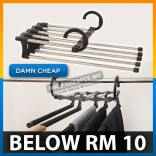 Trousers, Pants, Jeans Wardrobe Storage Rack Hanger 5pcs Storage Hang
