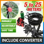 Micro Drip Irrigation System Plant Self Watering Garden Hose Kits