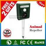 Animal Repeller Mouse Dog Cat Bird Solar Power LED Light Ultrasonic