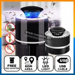 USB LED Light Electronics Mosquito Insect Killer Pest Zapper Repeller