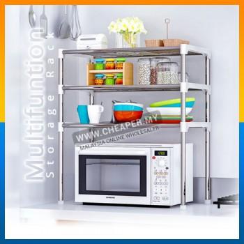 3 Tiers Holo Steel Organizer Kitchen Rack Shelf Storage