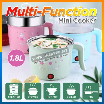 Multi-function Mini Electric Stainless Steel Hot Pot Cooker Cooking