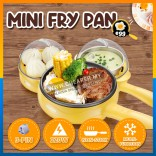 Multifunction Electric Mini Fry Pan Steam Cooker Anti Sticking Pan