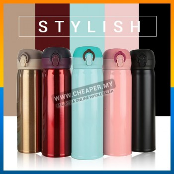 Stainless Steel Thermos Coffee Tea Bottle Vacuum Insulation Thermal