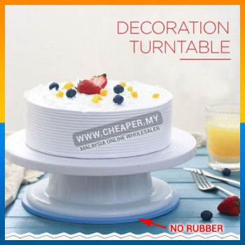 DIY Cake Decoration Icing frosting Round Pattern Manually Turntable Rotating Shaped Cake Mounting Tool