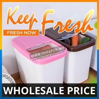 10kg Large Capacity Thick Rice Barrel Kitchen Plastic Storage Box Household Anti Bug Pest Moist
