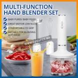 Hand Blender Set Malaysia Plug Baby Food Food Blender Meat Grinder Powder Grinder Pengisar Makanan Baby