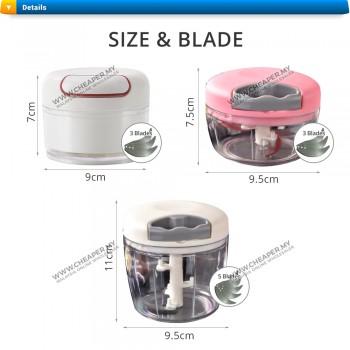 Manual Hand Pull Speedy Chopper Cutter Blade Mixer Speedy Shopeer Pencincang Grinder Blender Pull Cutter