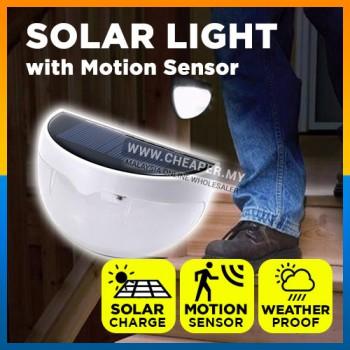Solar Wall Light 6 LED Solar Garden Light Fence Lamp