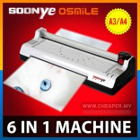 6 in 1 SOONYE Laminator Paper Photo A4 A3 Cutter Trimmer Corner Round