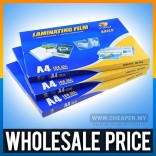 High Quality Laminator Laminating Laminate Pouches Film A4 55 80 Mic