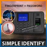 High Quality Office Fingerprint Attendance Machine Punch Tag ID USB