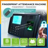 High Quality Office Fingerprint Attendance Machine Punch Tag ID USB