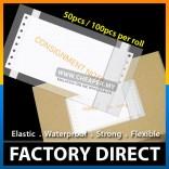 100 pcs / 50 pcs Consignment Note Courier Address Plastic Flyer Pocket