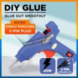 Glue Gun Pistol Gum 20W Electric Hot Melt Glue Gun 20cm Adhesive Electric Glue Hot Melt Sticks