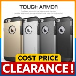 [CLEARANCE] Apple iPhone 5 5S SE SPIGEN SGP Tough Armor Cover Case Casing