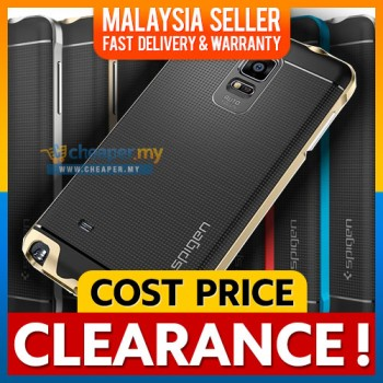 [CLEARANCE] Samsung Note 3 4 5 S5 S6 S7 Edge Spigen Neo Hybrid Cover Case Casing
