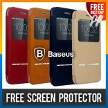 iPhone 6 100% Original Baseus Terse Leather Deerskin Pouch Case Casing