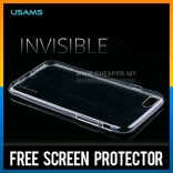 iPhone 6 100% Original USAMS Crystal Clear Transparent TPU Case Casing