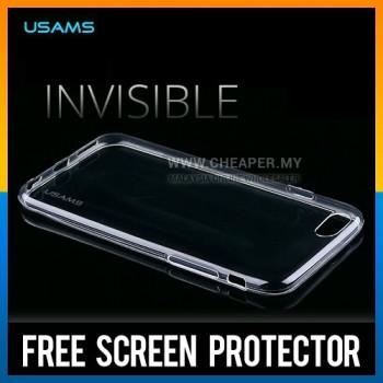 iPhone 6 100% Original USAMS Crystal Clear Transparent TPU Case Casing