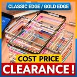 [CLEARANCE] Sony Xperia Z Z1 Z2 Z3 Gold Edge Aluminum Bumper Case Cover Casing