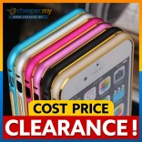[CLEARANCE] Asus Zenfone 5 6 2 5.0 2 5.5 Gold Edge Metal Bumper Case Cover Casing
