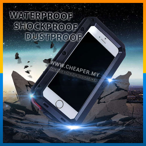 0f2101e5961 LUNATIK iPhone 5 5S SE 6 6S 7 Plus Metal Waterproof case