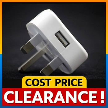 [CLEARANCE] Apple 3 Pin Charger Plug for iPhone iPad iPod
