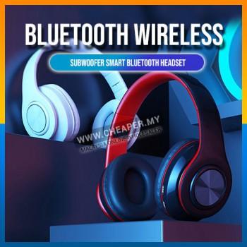 B39 Wireless Headset Bluetooth 5.0 Colorful LED Bass Stereo Wireless Headphones Alat Dengar Fon Kepala