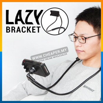 Lazy Hanging Neck Phone Holder Stands Cellphone 360°C Rotation Support Flexible Phone Holder Bracket