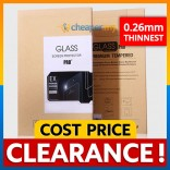 [CLEARANCE] Tempered Glass PRO Screen Protector 9H 2.5D Samsung S4 S5 Note 2 3