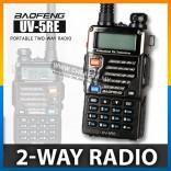 Original Baofeng UV-5RE 5W 128CH VHF/UHF Dual Band UV5RE Walkie Talkie