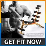 ABS Six Pack Care Exercise Bench Sit Up Gym Fitness Workout Machine