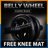 Abdominal Roller Advanced Stable Double Wheel AB Roller