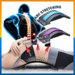 Back Massager Stretcher Equipment Massage Tools Urut Stretch Fitness Support Relaxation Spine Pain Relief