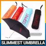 Esprit Umbrella Slim Light Compact Foldable for Maximum Portability