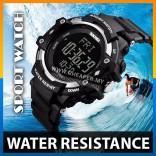 SKMEI 1180 Sport Watch - Heart Rate, Pedometer, Chronograph