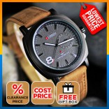 [CLEARANCE] CURREN Outdoor Men Sport Leather Strap Watch [FROM MANUFACTURER]