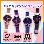 Ladies Style Fashion Watch Star Starry Sky Quartz Women Trend Bracelet Watches