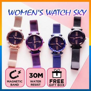 Ladies Style Fashion Watch Star Starry Sky Quartz Women Trend Bracelet Watches