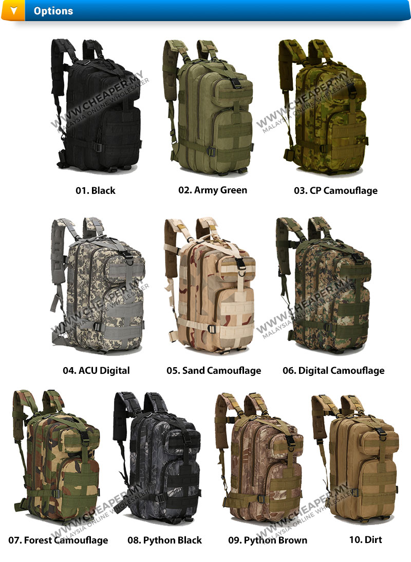 Army Military 3p Attack Backpack Swa End 5 31 2020 1 15 Pm
