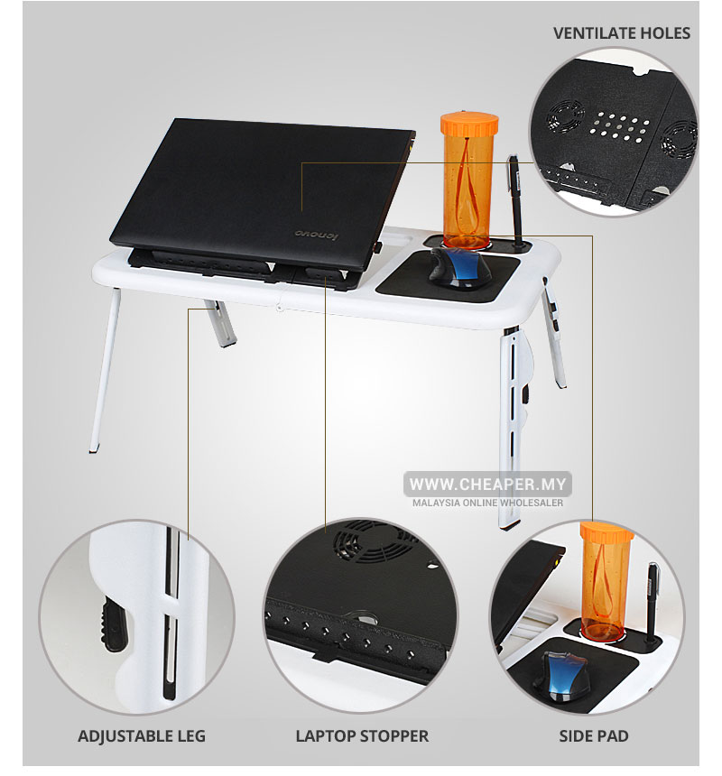 The Lap Top Table Is More Than An Innovative Portable Performance Laptop It Ultimate Workstation With Flexible Height And Angle